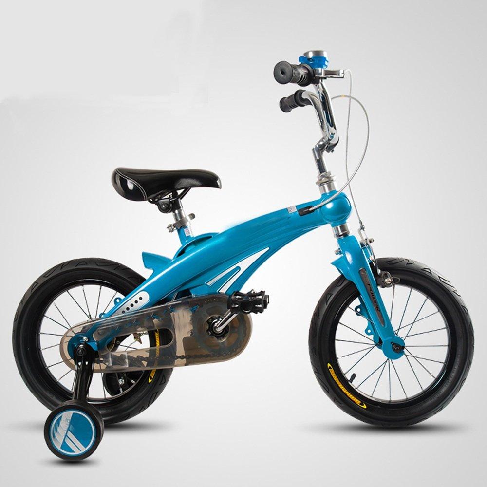 HAIZHEN マウンテンバイク 子供の自転車12インチの男の子のベビーベビーカーの自転車の男の子の自転車 新生児 B07C6WR7BM青