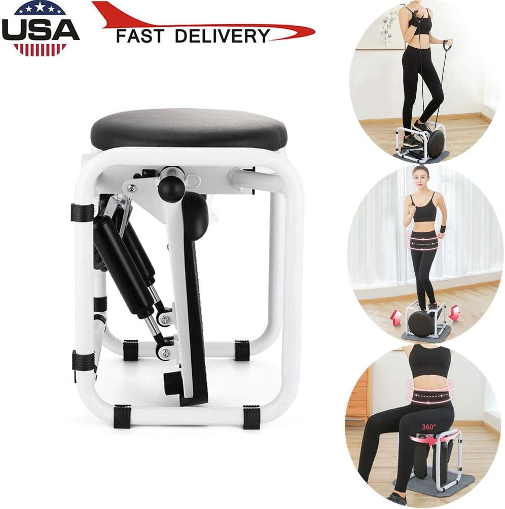 Steppers for Exercise,Home Mini Hydraulic Mute Mountaineering Pedal Multi-Function Fitness with LCD Monitor,Stepper Climber Fitness Machine Cord Step Aerobics Machine Stair Stepper【from USA】