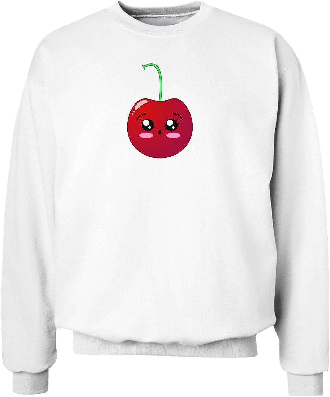 TooLoud Cherries Sweatshirt-White