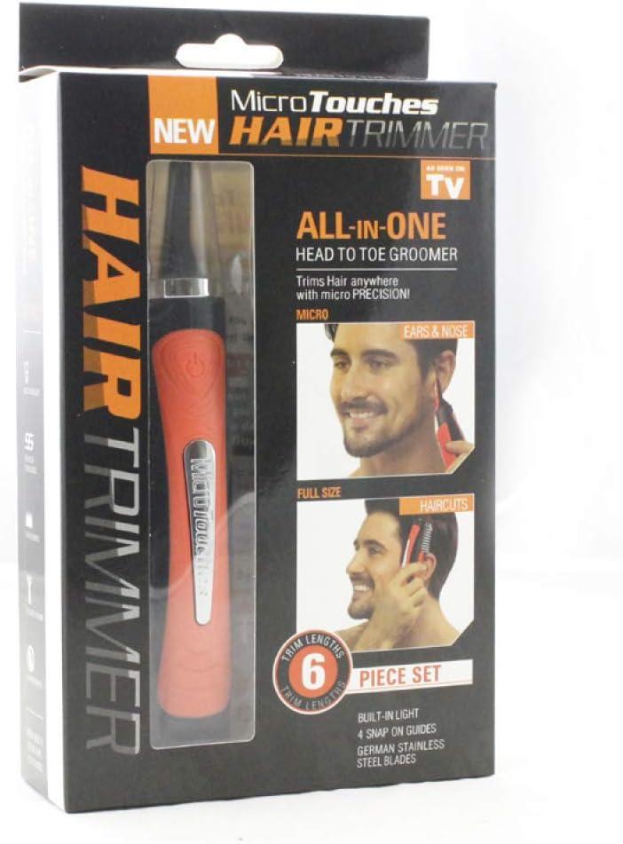 Cortapelos Nariz Y Oreja - 2020 Profesional Nose Hair Trimmer Sin Dolor Cuchillas De Acero Inoxidable Afeitadora para Nariz Oído Y Pelo Facial Cabeza Desmontable Lavable