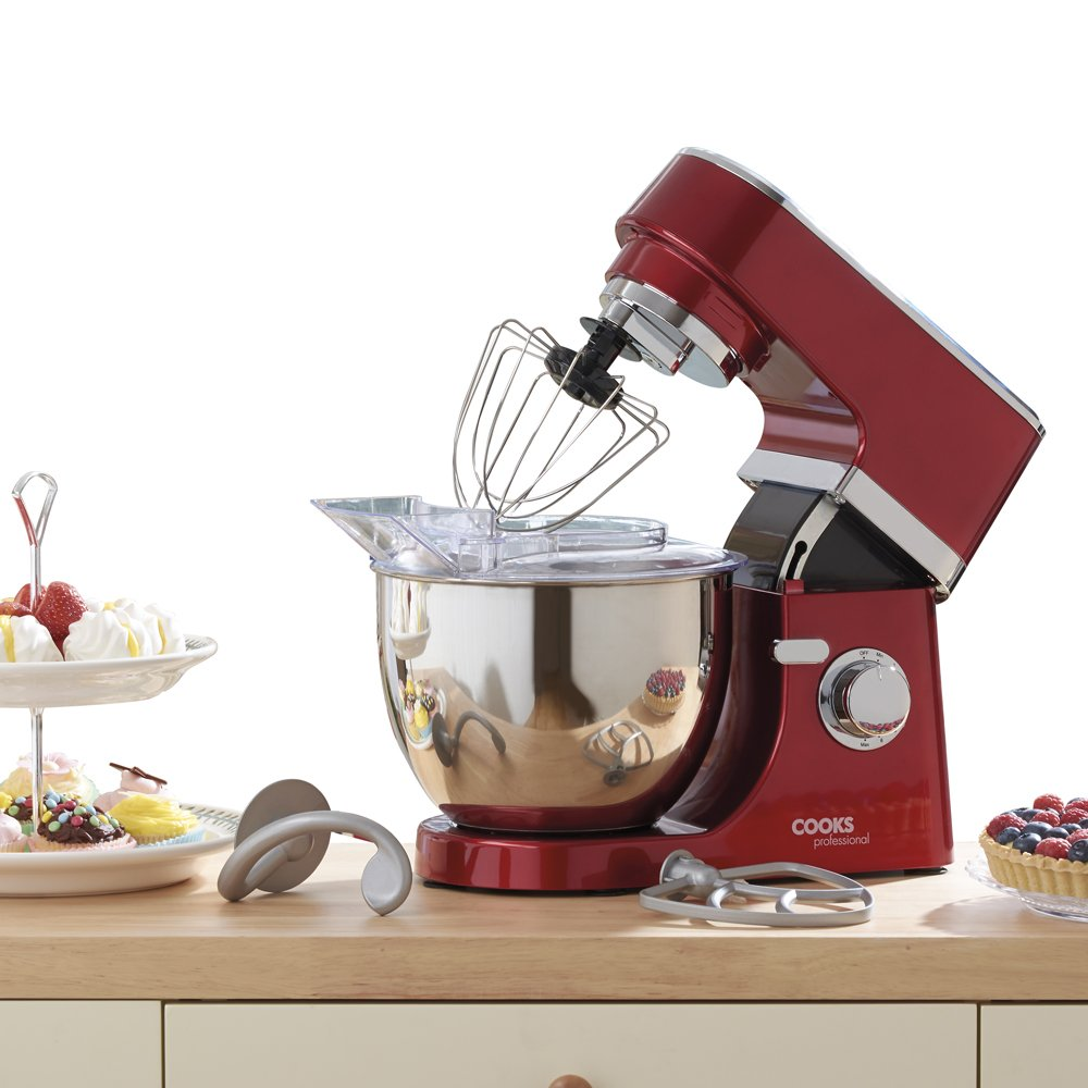 Electric Stand Mixer Food Processor 5 Litre Mixing Bowl With