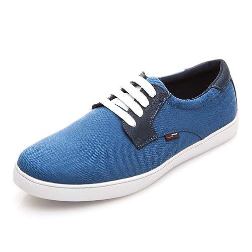 Hombres Casual Zapatos Primavera otoño Zapatos cómodos Lona Hombres Zapatillas Transpirables: Amazon.es: Zapatos y complementos