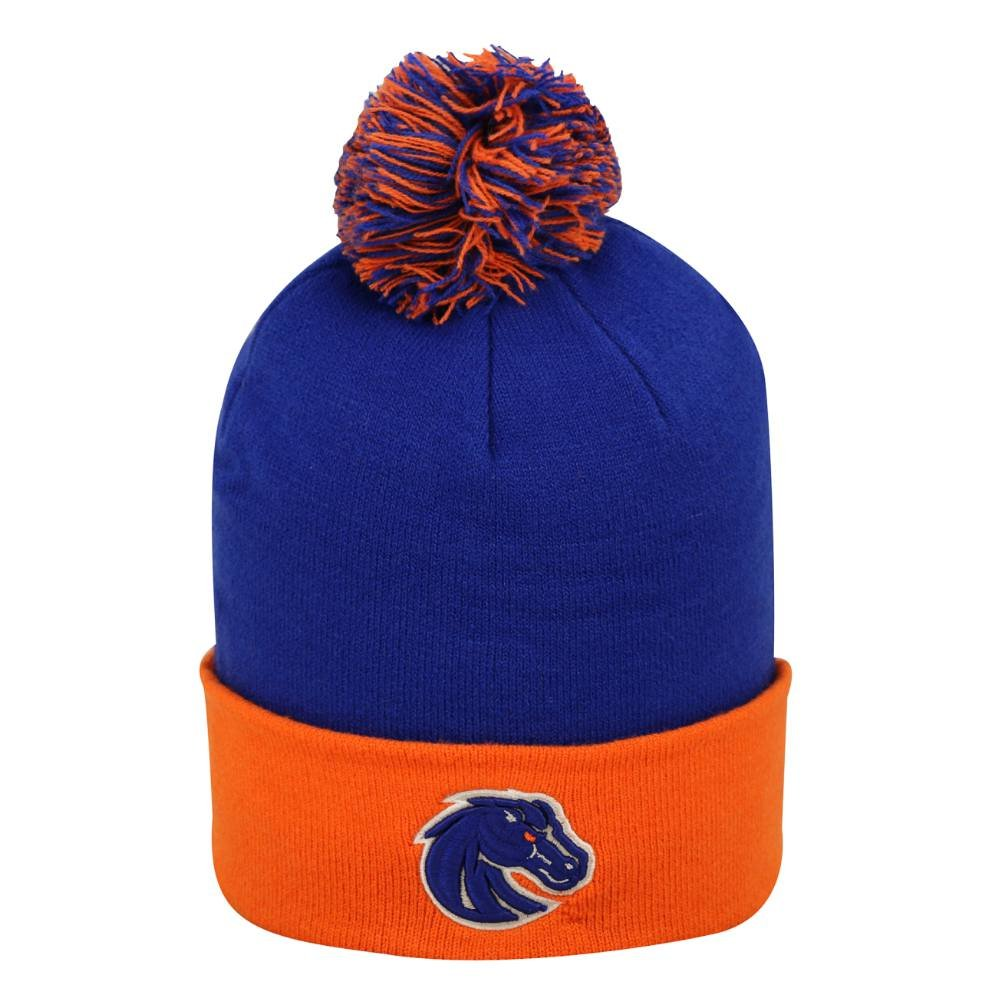 Boise State Boys Blue /& Orange Broncos Beanie Winter Hat