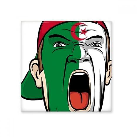 DIYthinker Algérie Drapeau National Peinture du Visage ...