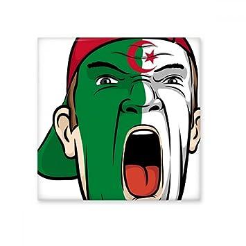 DIYthinker Algérie Drapeau National Peinture du Visage Masque ...
