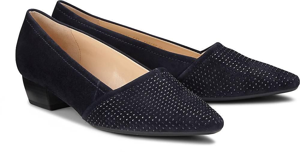 Gabor - Damen Pumps - Pazifik Schwarz Schuhe in Übergrößen Pazifik - (+Steine) 27bc75
