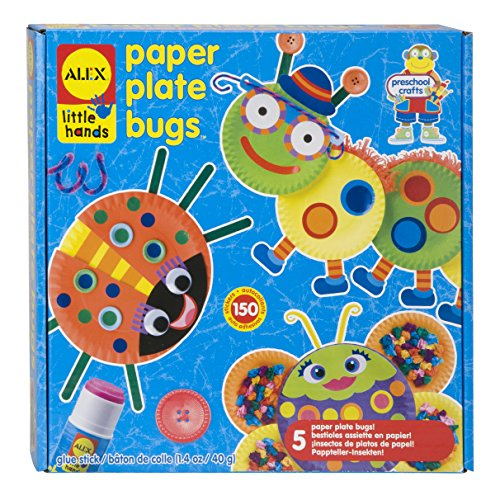 Childrens Art Crafts - ALEX Toys Little Hands Paper Plate Bugs