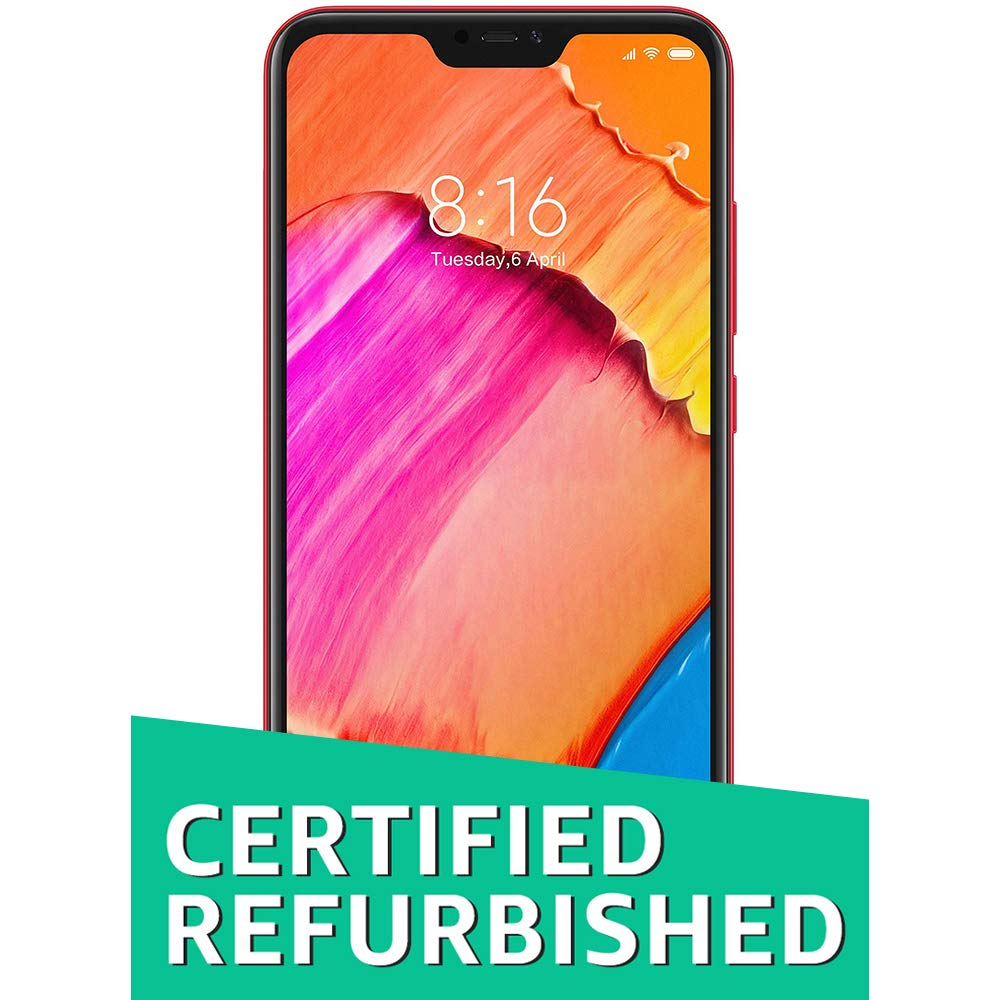 (CERTIFIED REFURBISHED) Redmi 6 Pro (Red, 3GB RAM, 32GB Storage)