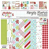 Simple Stories 7400 Mistletoe Kisses Collection Kit