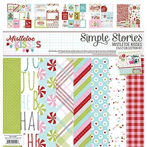 Simple Stories 7400 Mistletoe Kisses Collection Kit