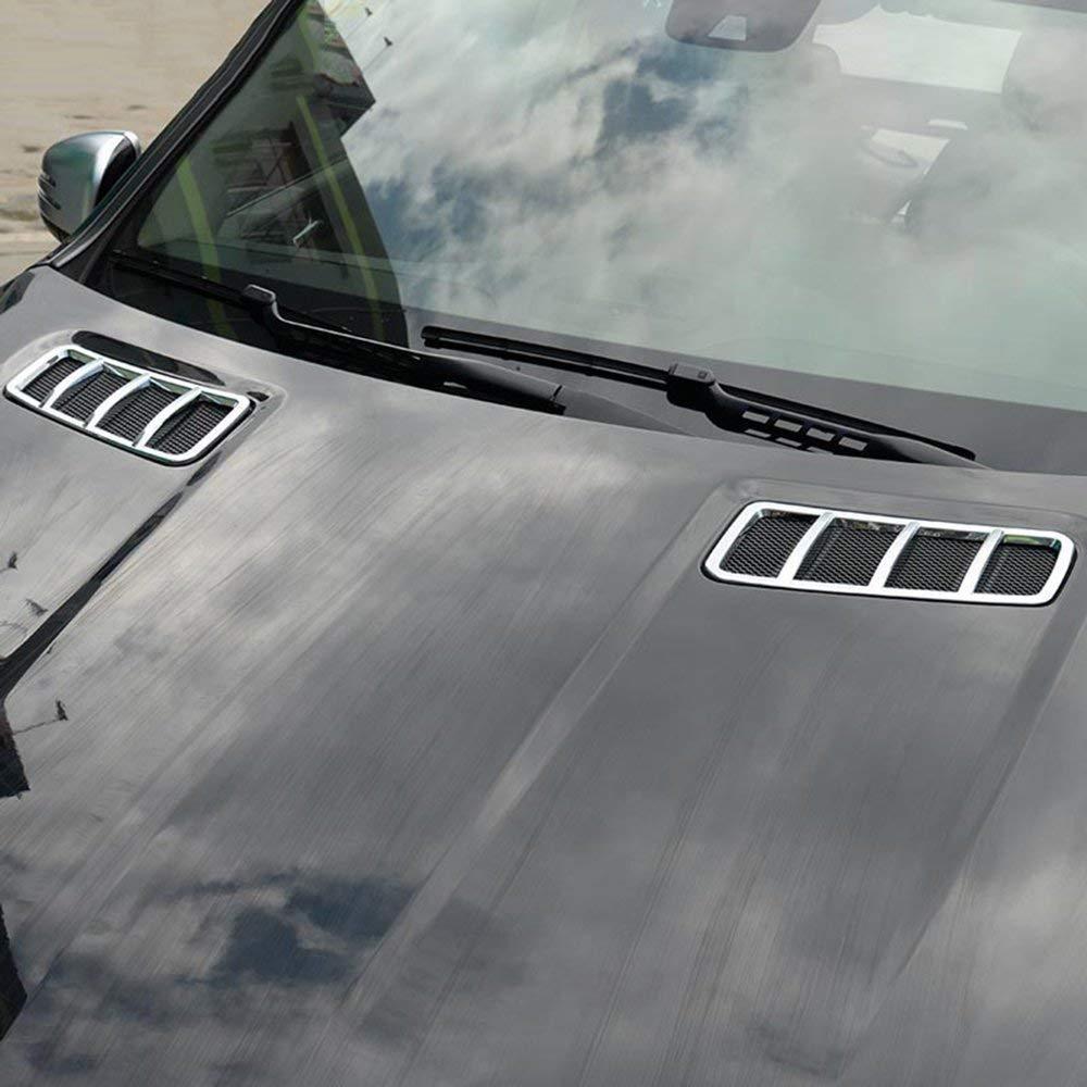 Autobro ABS Chrome Engine Roof Hood Sticker Trim for Mercedes Benz ML GL GLE GLS 2013-2017 ATB-OC00152