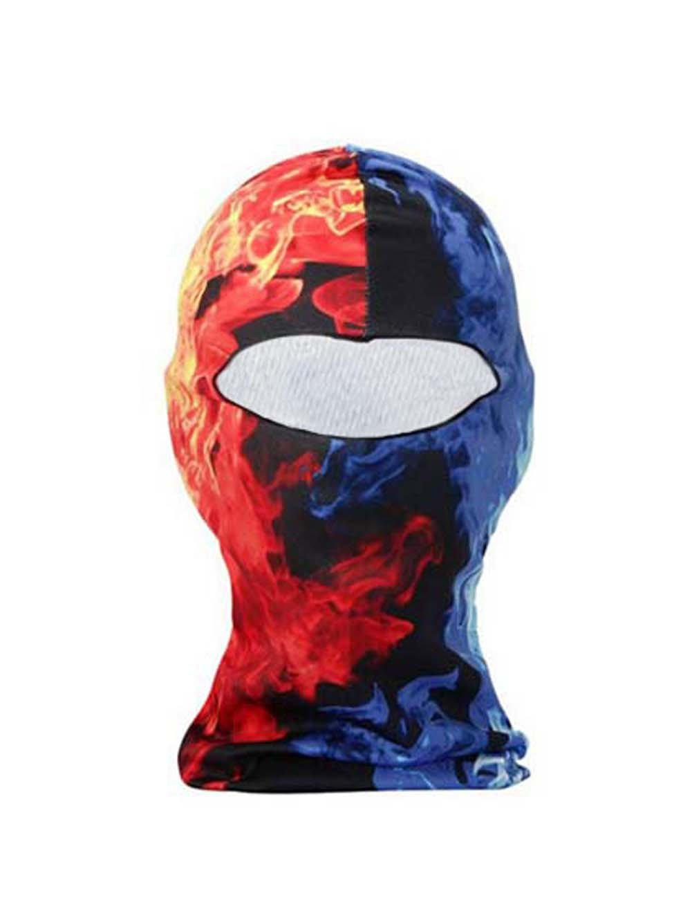 Panda Superstore Water & Fire Motorcycle Cycling Dacron Balaclava Full Face Mask