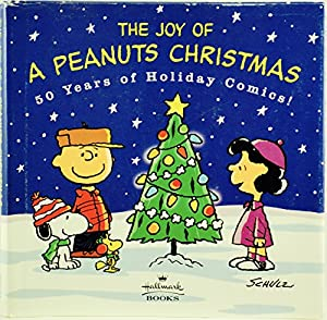 Hardcover The Joy Of A Peanuts Christmas Book