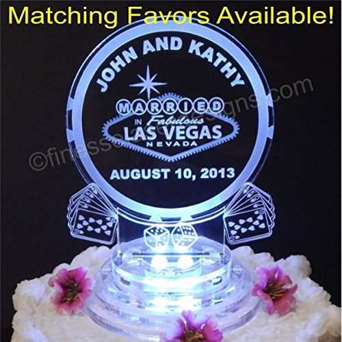 Keychains Las Vegas Wedding Favors - 6