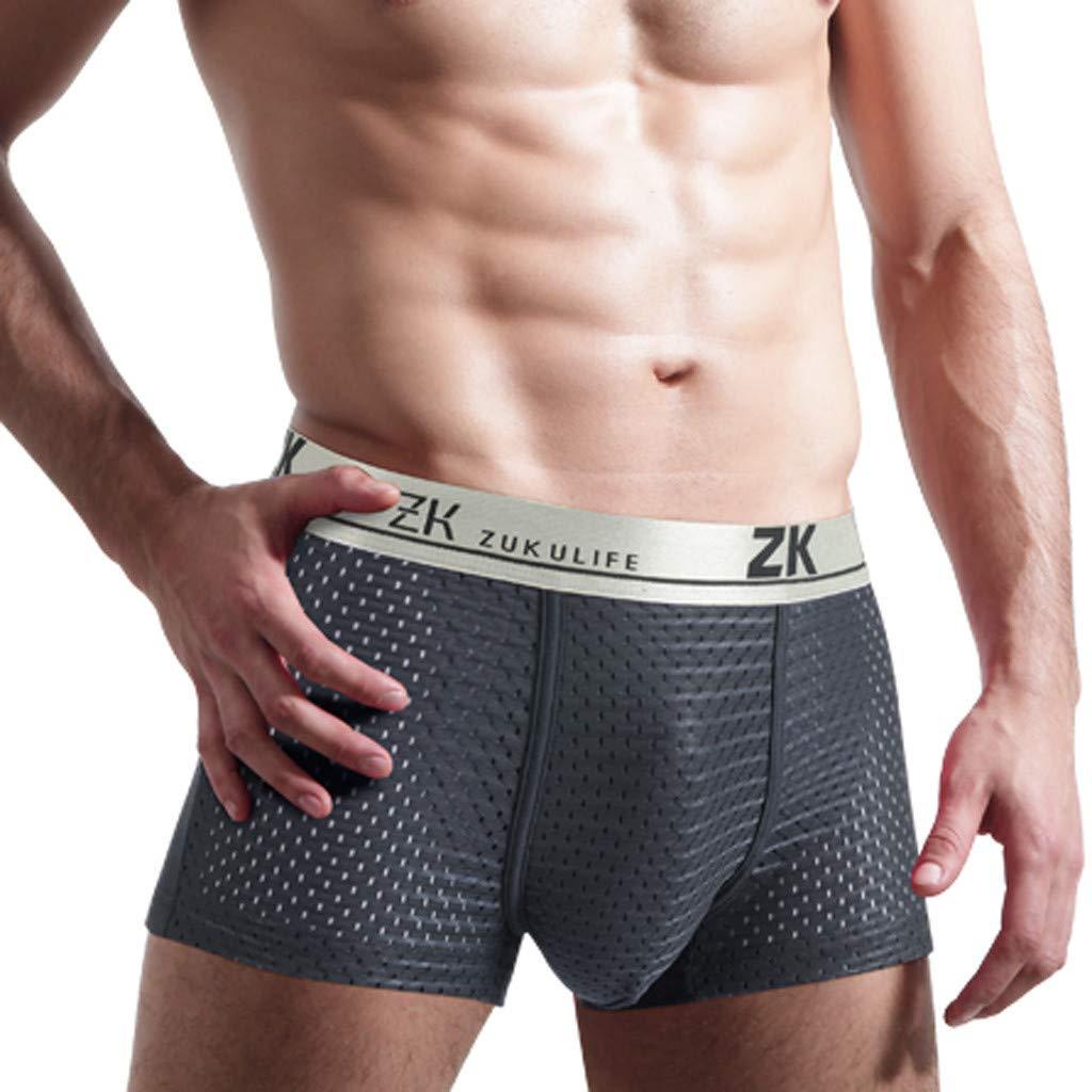 Mens Boxer Briefs Underwear Hanes ComfortFlex Exposed Waistband Tagles 3XL