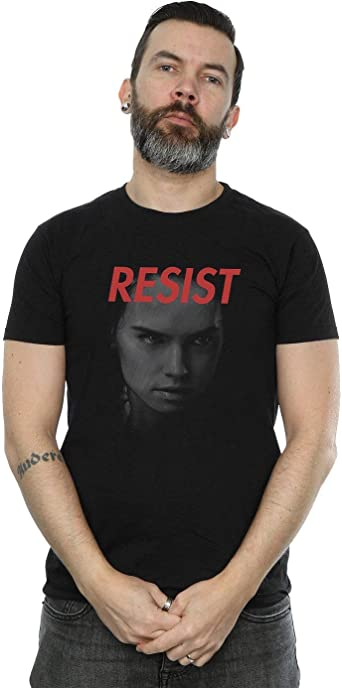 Star Wars Hombre The Last Jedi Rey Face Camiseta: Amazon.es: Ropa y accesorios