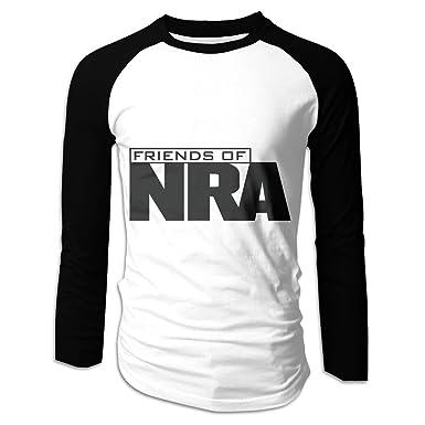 c485f500 Men's NRA National Rifle Association Long Sleeve T-Shirt Athletic Baseball  Tee at Amazon Men's Clothing store: