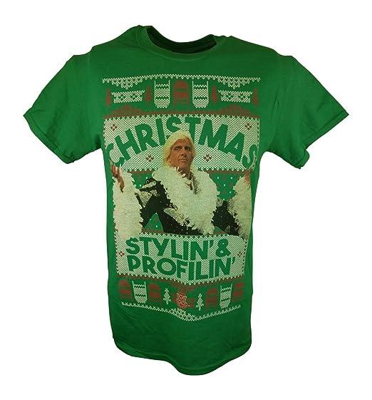 Amazoncom Wwe Ric Flair Christmas Stylin And Proflin Flair Mens