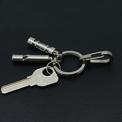 10Pcs Keychain Carabiner Clip Quick Release Snap Hook Key Organizer Holder