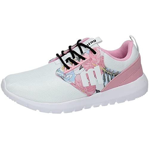 ZAPATOP 69784 Deportivas Mustang Mujer Deportivos Blanco-Rosa 41: Amazon.es: Zapatos y complementos