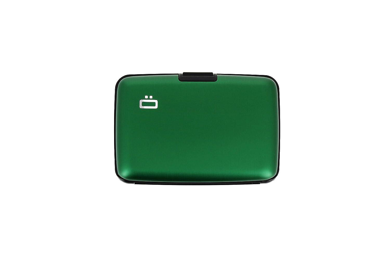 /Ögon ST-Green Stockholm Cartera Tarjetero de Aluminio Anodizado Verde