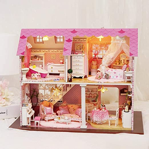 Further DIY Dollhouse Miniature House DIY Build For Crafting ...