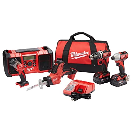 milwaukee m18 5-tool combo kit - - .com