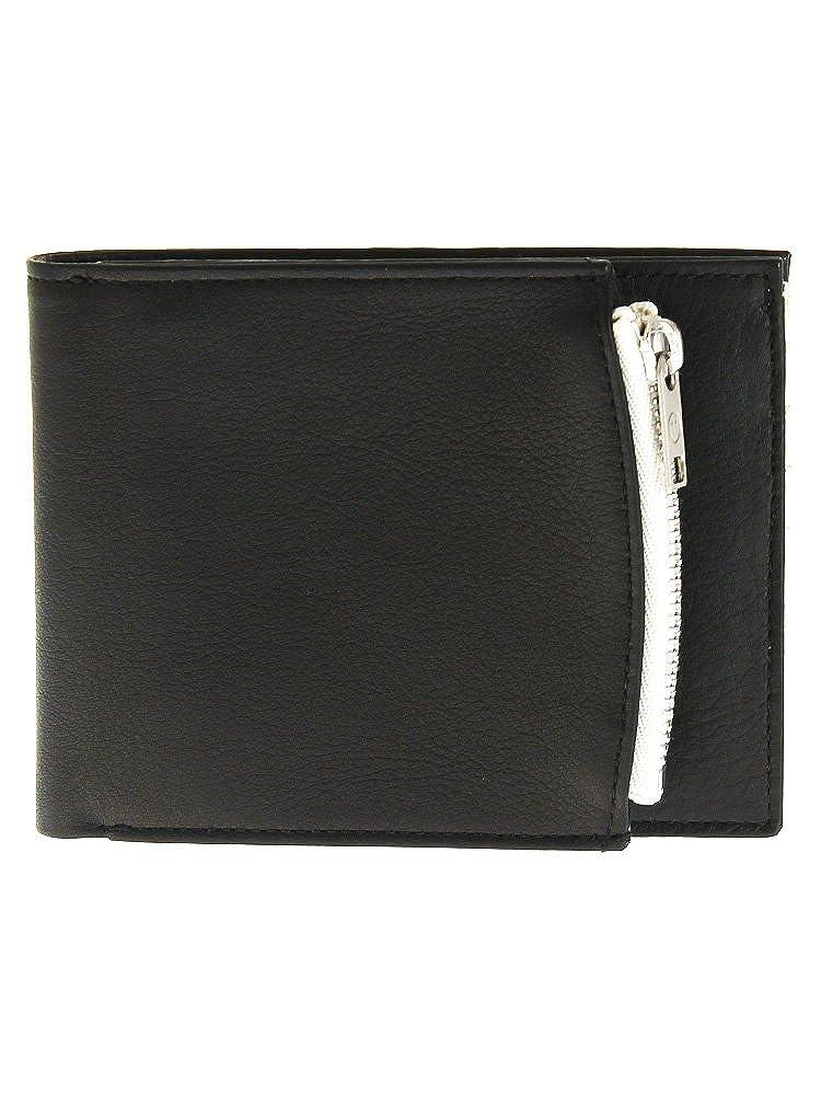[メゾンマルジェラ] Maison Margiela メンズ 二つ折り財布 小銭入れ付 S55UI0182 PR516 [並行輸入品] B07DPK8QYM 964 BLACK