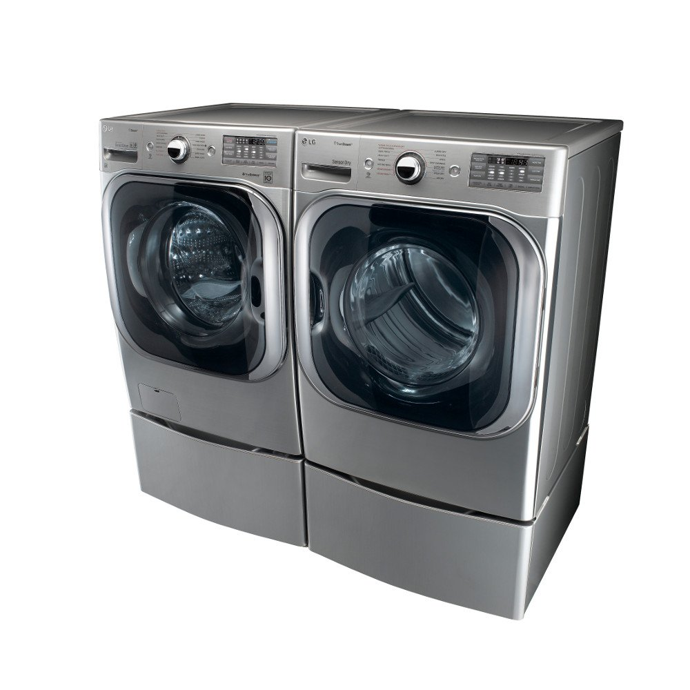 Lg all in one washer and dryer reviews - Amazon Com Lg Titan Laundry Pair Mega Capacity Graphite Steel Washer Gas Dryer And Pedestal Package Wm8000hva Dlgx8001v Wdp5v 2 Appliances