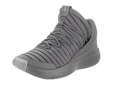 0d406fcf66b Jordan Nike Kids Flight Luxe BG Cool Grey/Wolf Grey Cool Grey Casual Shoe 5