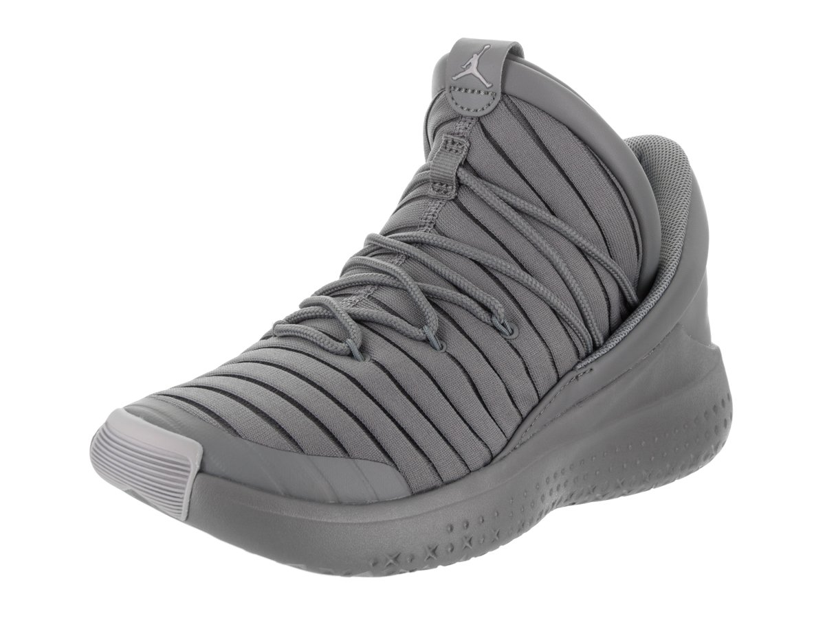 Jordan Nike Kids Flight Luxe BG Cool Grey/Wolf Grey Cool Grey Casual Shoe 5 Kids US