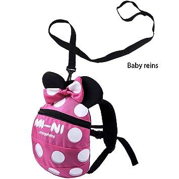 Penguin Baby Toddler Walking Safety Backpack With Leash Little Kid Child Bag FT