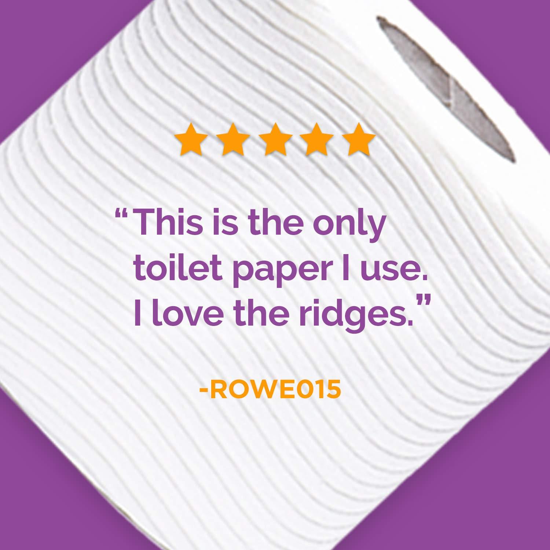 Cottonelle Ultra ComfortCare Toilet Paper, Soft Bath Tissue, Septic-Safe, 24 Mega Rolls by Cottonelle (Image #9)