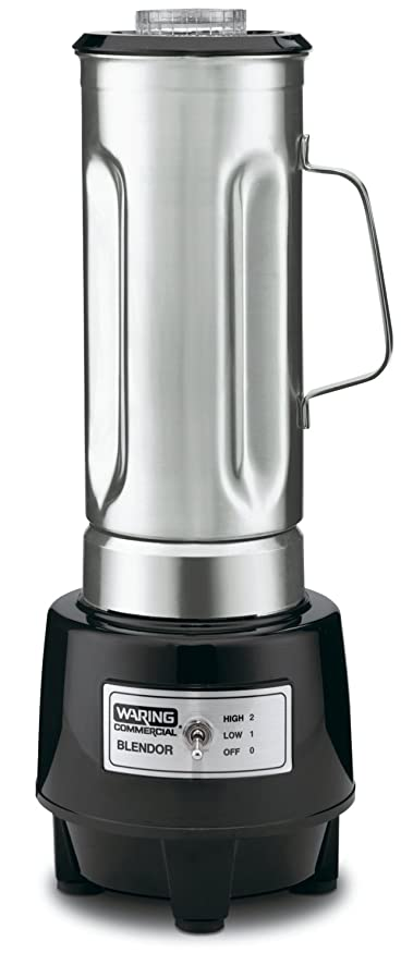 Amazon waring commercial hgb150 12 gallon food blender with waring commercial hgb150 12 gallon food blender with 64 ounce stainless steel sciox Images