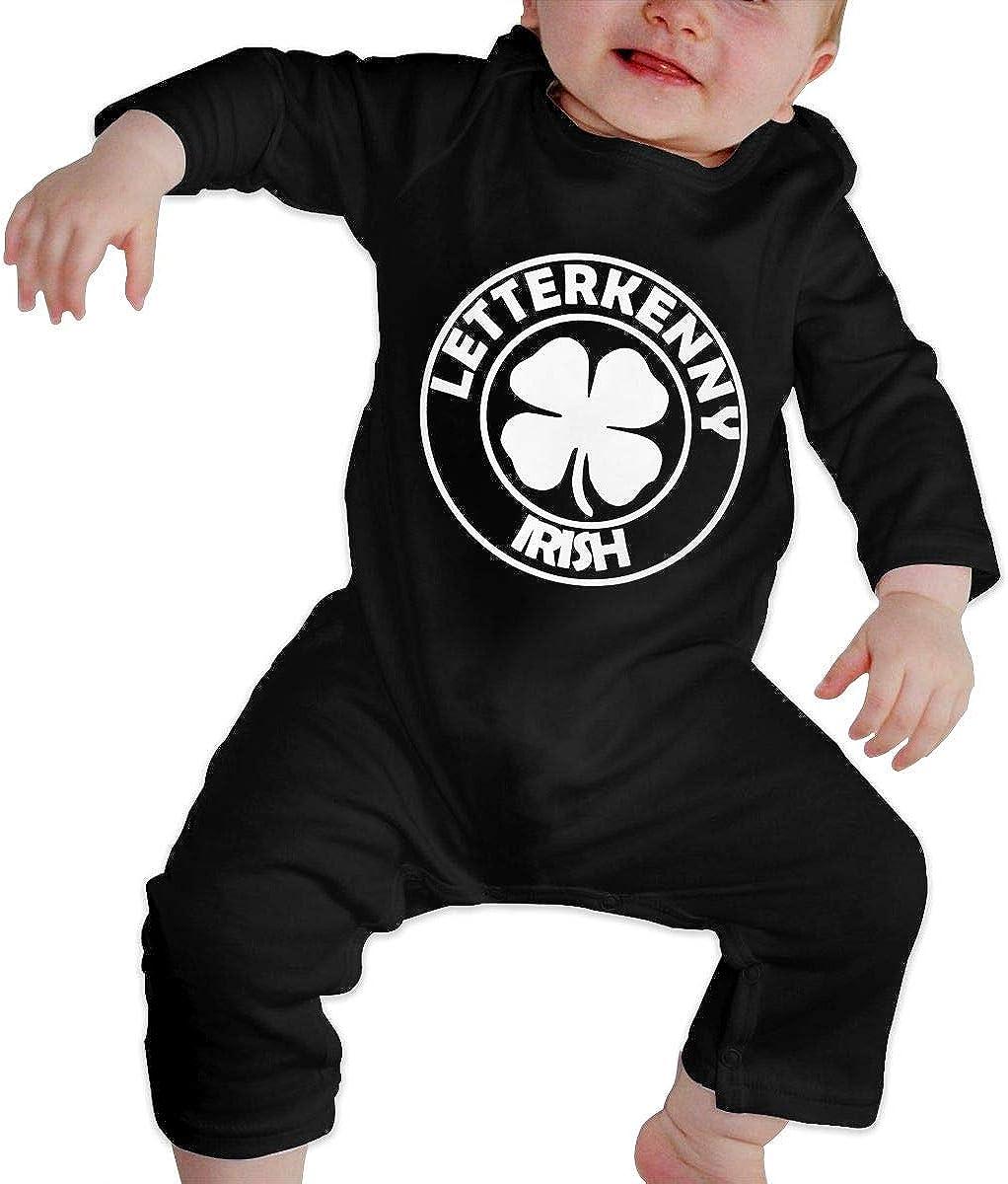 MiNgosRY Letterkenny-Irish Newborn Baby Long Sleeve Bodysuits Rompers Outfits