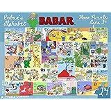 New York Puzzle Company - Babar Babar's Alphabet - 24 Piece Jigsaw Puzzle by New York Puzzle Company