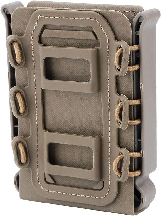 MAJOZ0 Porte Chargeur Molle Tactique Mag Pouch Magazine pour Ar15// M4// 5.56//7.62 Mag