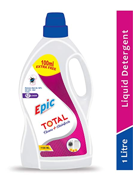 EPIC Total Clean + Disinfects,Top & Front Loader Laundry