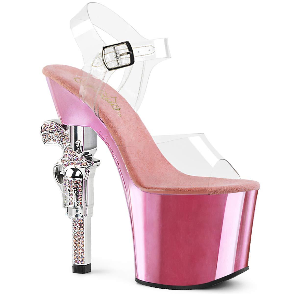 Pleaser Womens Revolver-708 Platform Sandal