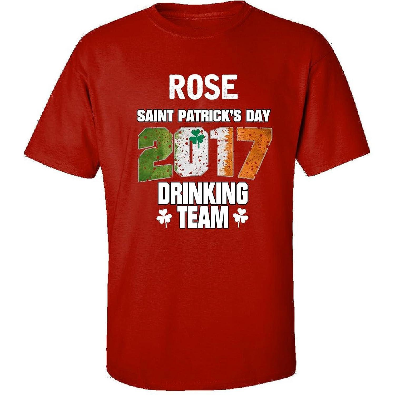 Rose Irish St Patricks Day 2017 Drinking Team - Adult Shirt