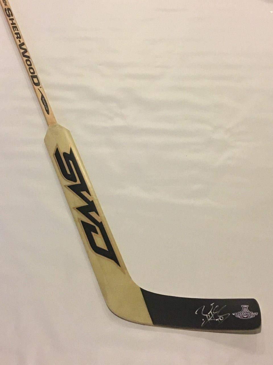 Braden Holtby Autographed Stick Goalie 2018 Stanley Cup Champions Autographed NHL Sticks