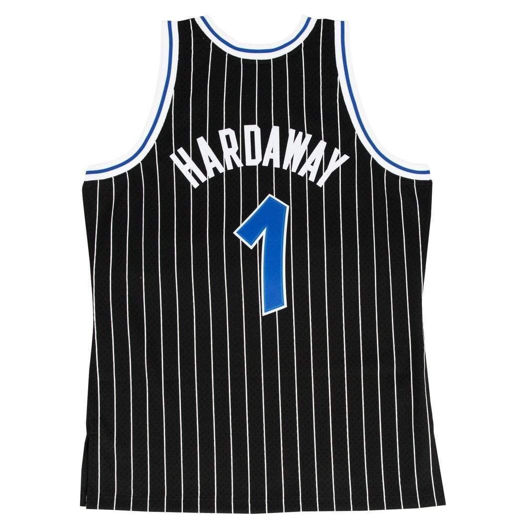 Mitchell & Ness Replica Swingman NBA Jersey HWC 1 Anfernee Hardaway Orlando Magic Basketball Trikot: Amazon.es: Ropa y accesorios