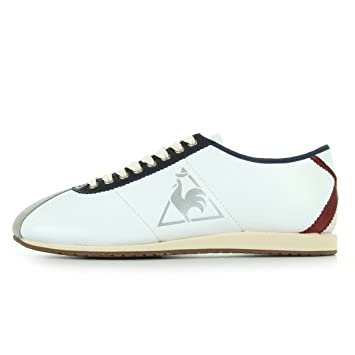 40dc7e9809d8 Le Coq Sportif WENDON 2 TRICOLOR PREMIUM White Blue Red Leather Men  Sneakers Shoes  Amazon.co.uk  Sports   Outdoors