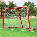 Yayoshow Hockey Goal All Purpose Steel Hockey Equipment Hockey Net