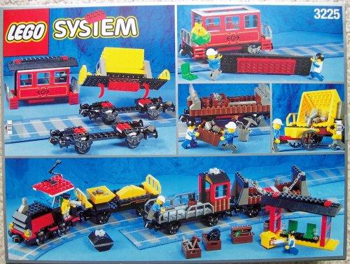 LEGO Trains 3225 Classic Train Locomotive Gondola Hopper Caboose