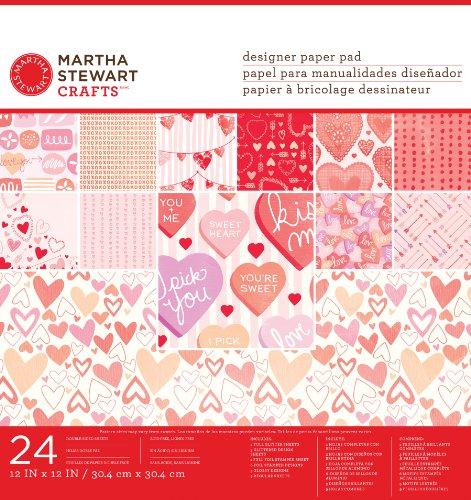 Martha Stewart Crafts Valentine Paper Pad