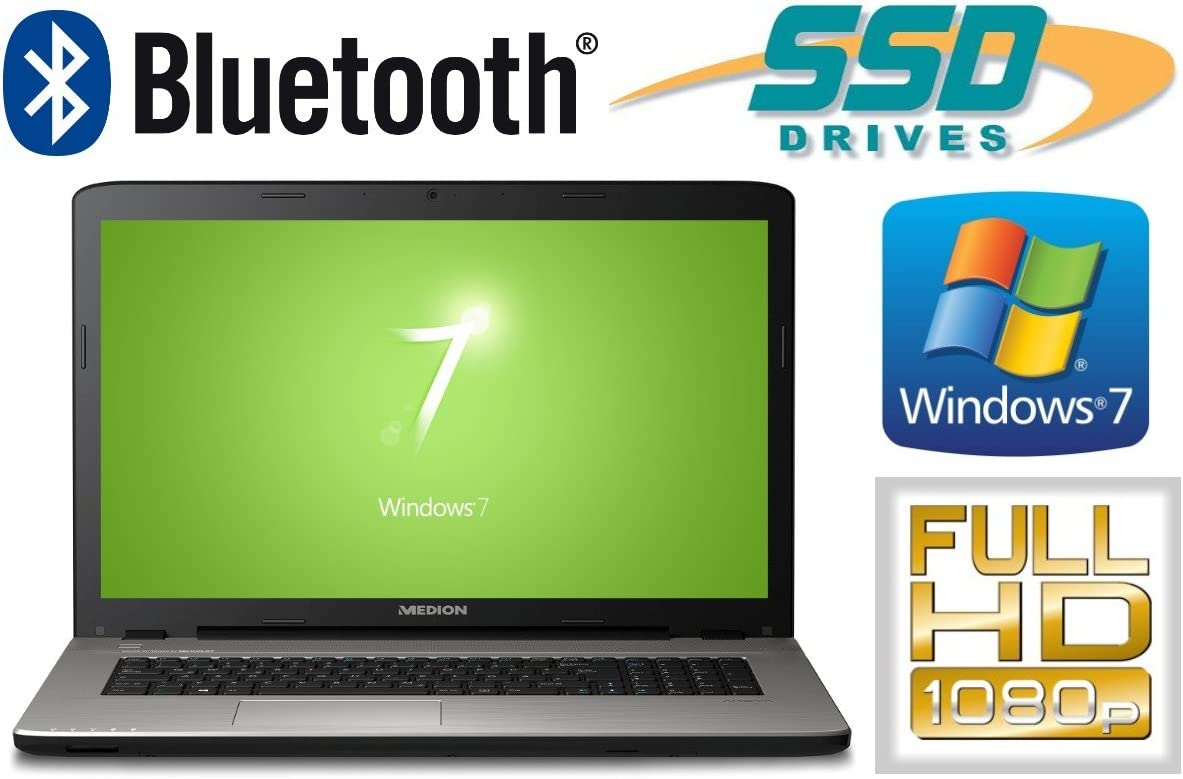 Medion e7419 – 128 GB SSD + 500 GB HDD – 8 GB RAM – Windows 7 Pro ...