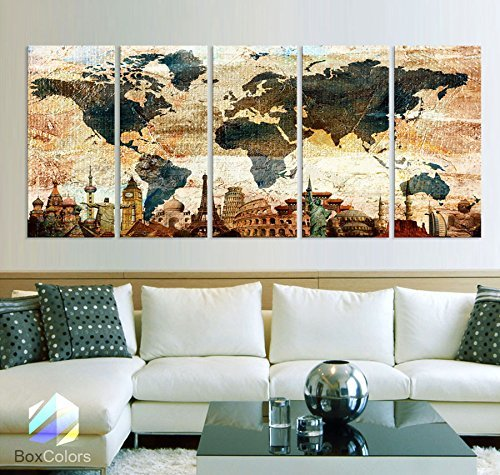 original-by-boxcolors-xlarge-30x-70-5-panels-30x14-ea-art-canvas-print-original-wonders-of-the-world