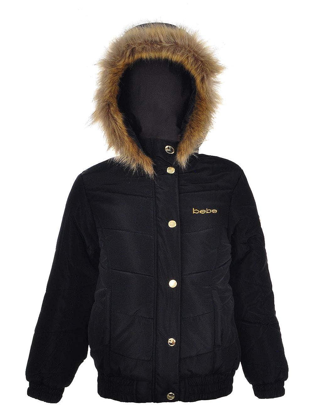 bebe Girls' Insulated Jacket 10-12