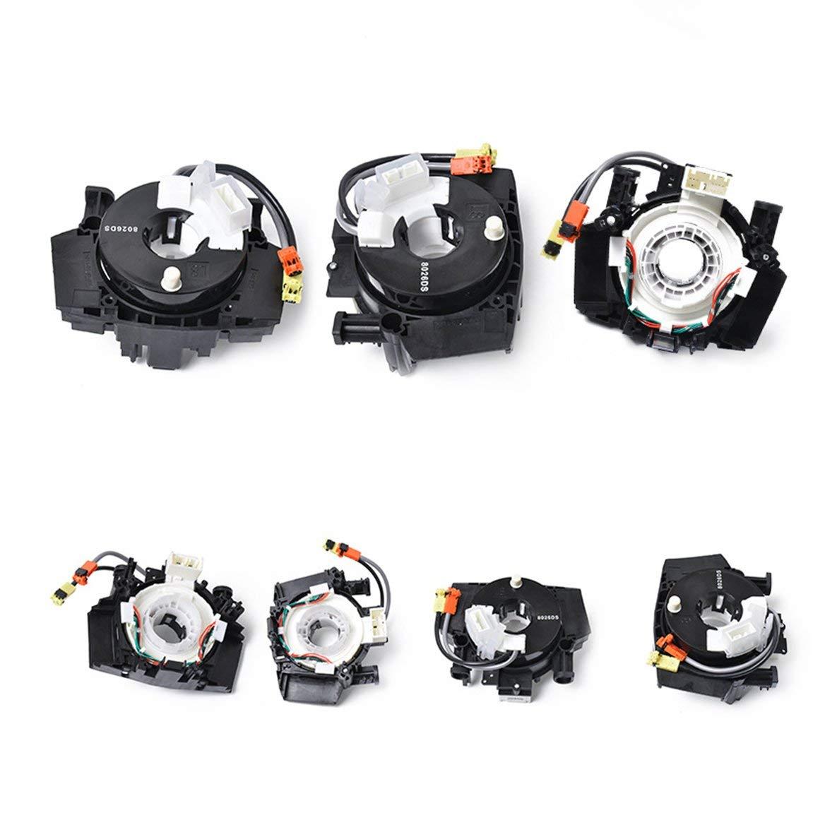 Noradtjcca Airbag Clock Spring Squib Spiral Cable Sensor Spiralkabel 25560-JD003 For Nissan Qashqai Pathfinder Murano 350Z 370Z